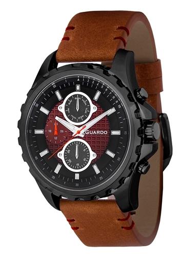 عکس نمای روبرو ساعت مچی برند گوآردو مدل 11252-4