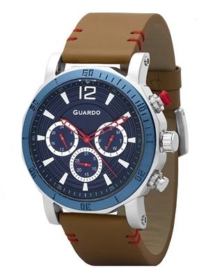 عگس نمای روبرو ساعت مچی برند گوآردو مدل 11253-2