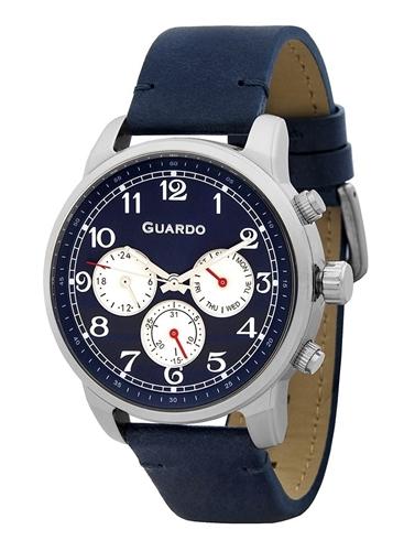 عکس نمای روبرو ساعت مچی برند گوآردو مدل 11254-1