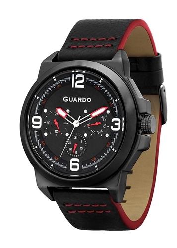عکس نمای روبرو ساعت مچی برند گوآردو مدل 11367-3