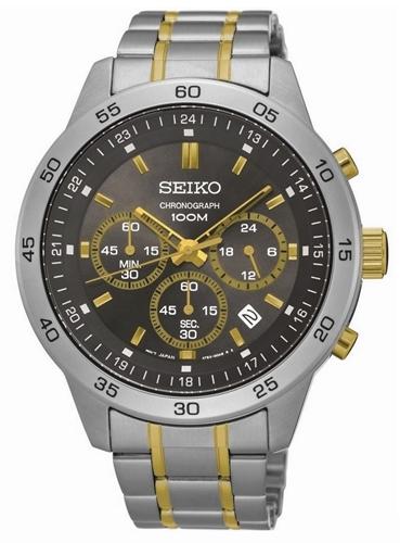 عکس نمای روبرو ساعت مچی برند سیکو مدل SKS525P1