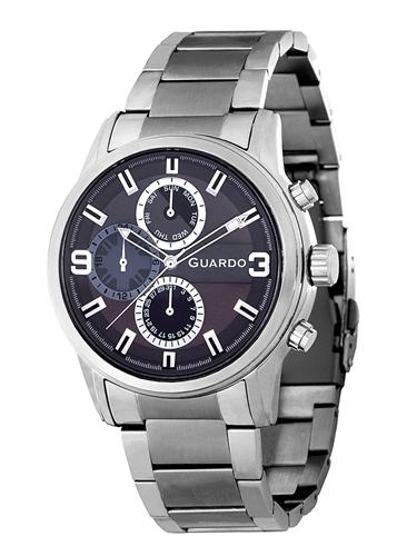 عکس نمای روبرو ساعت مچی برند گوآردو مدل 11410-3