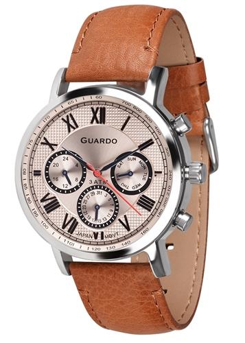 عکس نمای روبرو ساعت مچی برند گوآردو مدل 11450-3