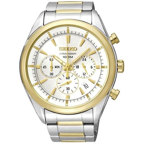 عکس نمای روبرو ساعت مچی برند سیکو مدل SSB090P1