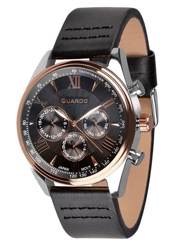 عکس نمای روبرو ساعت مچی برند گوآردو مدل 11451-6