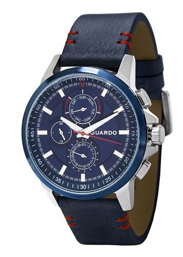 عکس نمای روبرو ساعت مچی برند گوآردو مدل 11457-2