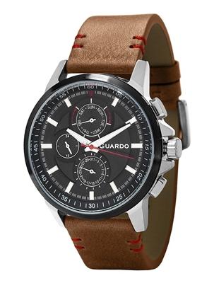 عکس نمای روبرو ساعت مچی برند گوآردو مدل 11457-3