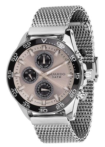 عکس نمای روبرو ساعت مچی برند گوآردو مدل 11458-2