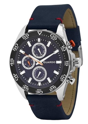 عکس نمای روبرو ساعت مچی برند گوآردو مدل 11458(1)-2