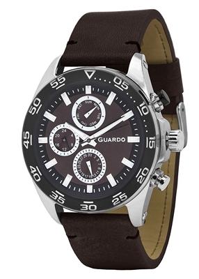عکس نمای روبرو ساعت مچی برند گوآردو مدل 11458(1)-4
