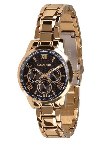 عکس نمای روبرو ساعت مچی برند گوآردو مدل 11466-3
