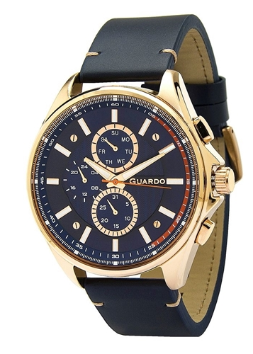 عکس نمای روبرو ساعت مچی برند گوآردو مدل 11602-5