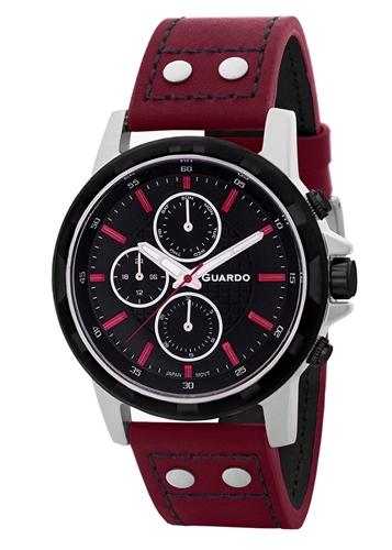 عکس نمای روبرو ساعت مچی برند گوآردو مدل 11611-3