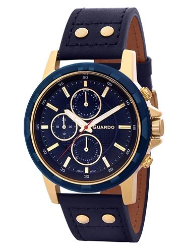عکس نمای روبرو ساعت مچی برند گوآردو مدل 11611-5