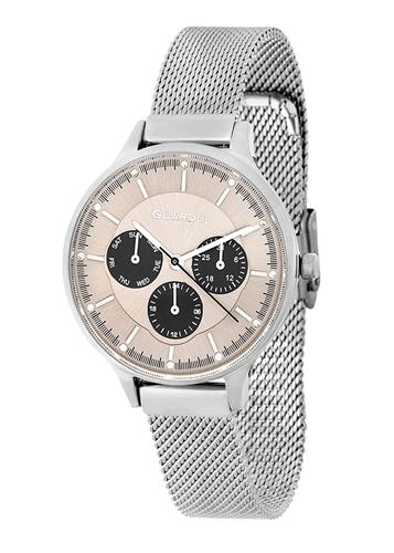 عکس نمای روبرو ساعت مچی برند گوآردو مدل 11636-2