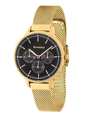 عکس نمای روبرو ساعت مچی برند گوآردو مدل 11636-3