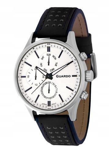 عکس نمای روبرو ساعت مچی برند گوآردو مدل 11647-1