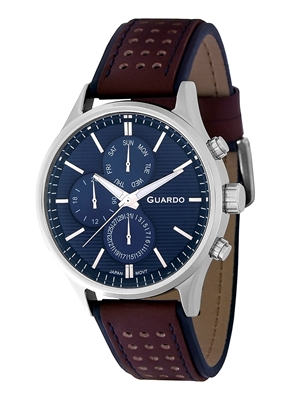 عکس نمای روبرو ساعت مچی برند گوآردو مدل 11647-2