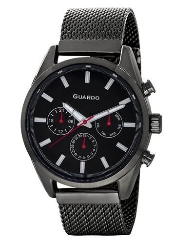 عکس نمای روبرو ساعت مچی برند گوآردو مدل 11661-6