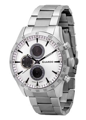 عکس نمای روبرو ساعت مچی برند گوآردو مدل 11675-1