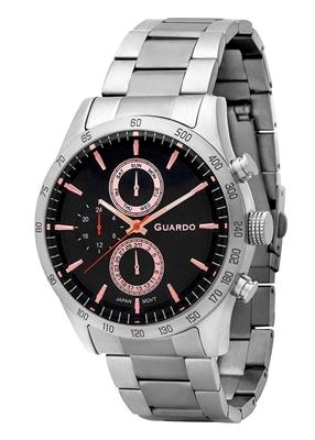 عکس نمای روبرو ساعت مچی برند گوآردو مدل 11675-2