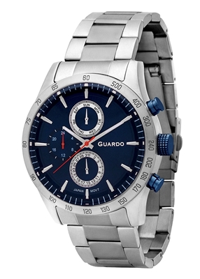 عکس نمای روبرو ساعت مچی برند گوآردو مدل 11675-3