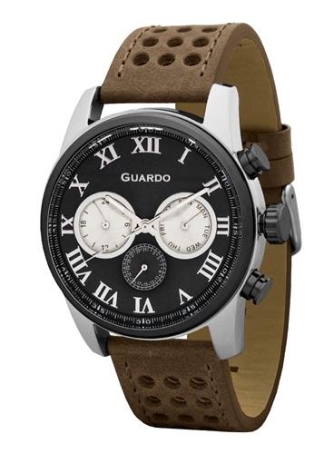 عکس نمای روبرو ساعت مچی برند گوآردو مدل 11679-2