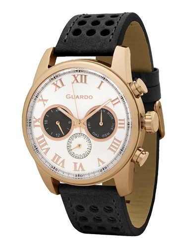 عکس نمای روبرو ساعت مچی برند گوآردو مدل 11679-5