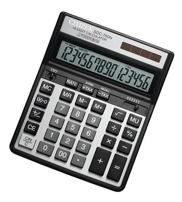 ماشین حساب سیتیزن مدل SDC-760N