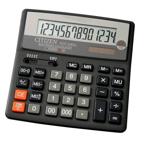 ماشین حساب سیتیزن مدل SDC-640II