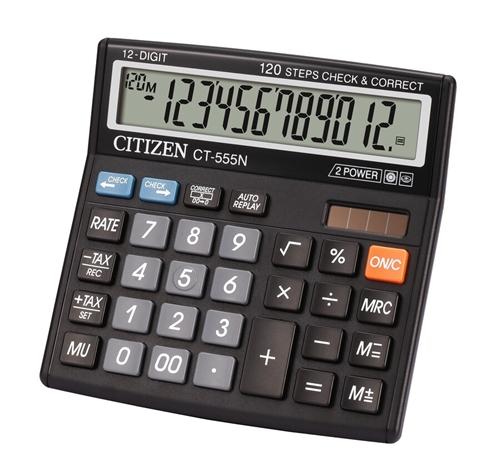 ماشین حساب سیتیزن مدل CT-555N
