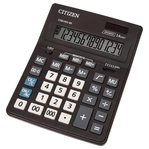 ماشین حساب سیتیزن مدل CDB1401-BK
