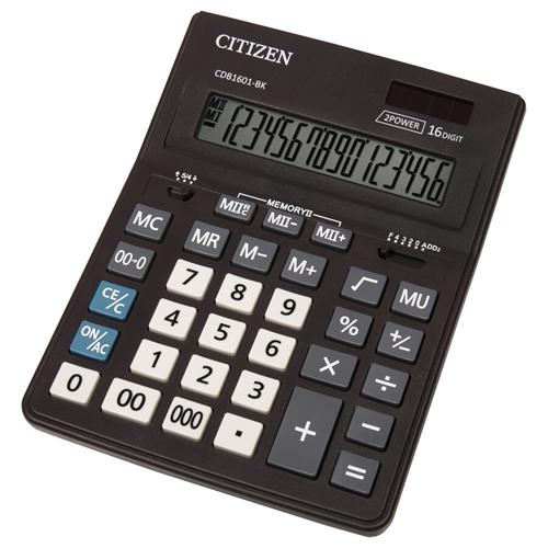 ماشین حساب سیتیزن مدل CDB1601-BK
