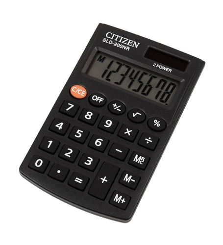 ماشین حساب سیتیزن مدل SLD-200NR