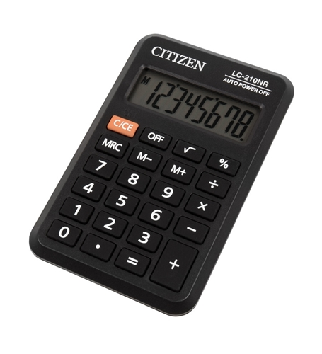 ماشین حساب سیتیزن مدل LC-210NR
