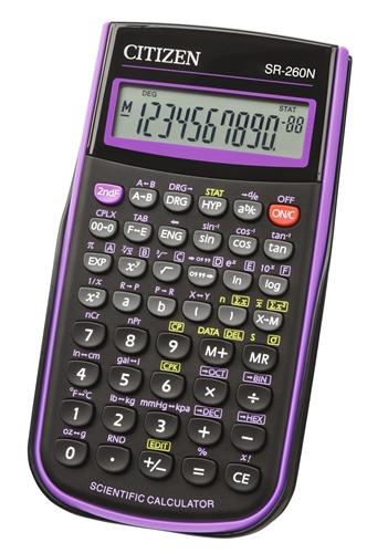 ماشین حساب سیتیزن مدل SR-260NPU