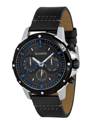 عکس نمای روبرو ساعت مچی برند گوآردو مدل 11710-1