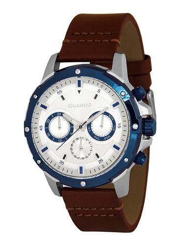 عکس نمای روبرو ساعت مچی برند گوآردو مدل 11710-3