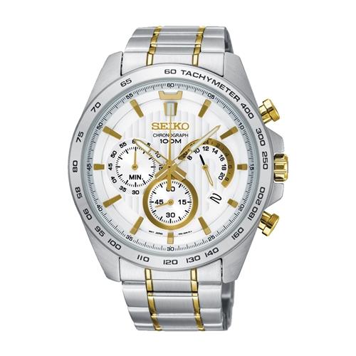 عکس نمای روبرو ساعت مچی برند سیکو مدل SSB309P1