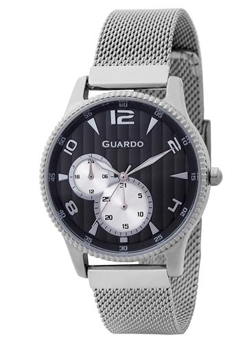 عکس نمای روبرو ساعت مچی برند گوآردو مدل 11718-1