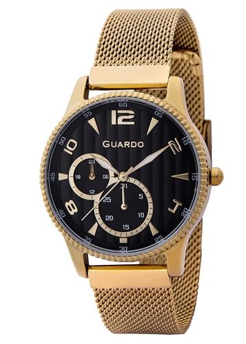 عکس نمای روبرو ساعت مچی برند گوآردو مدل 11718-3