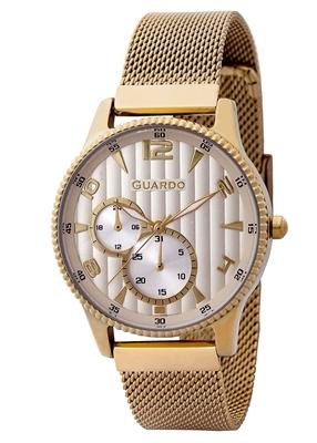 عکس نمای روبرو ساعت مچی برند گوآردو مدل 11718-4