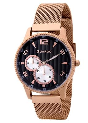 عکس نمای روبرو ساعت مچی برند گوآردو مدل 11718-5