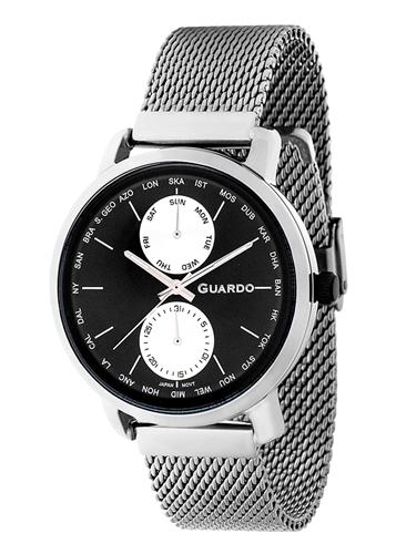 عکس نمای روبرو ساعت مچی برند گوآردو مدل 11897-1