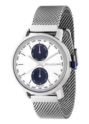 عکس نمای روبرو ساعت مچی برند گوآردو مدل 11897-2