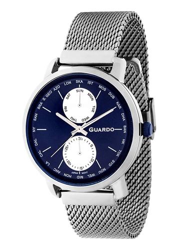 عکس نمای روبرو ساعت مچی برند گوآردو مدل 11897-3