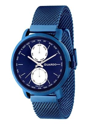 عکس نمای روبرو ساعت مچی برند گوآردو مدل 11897-7