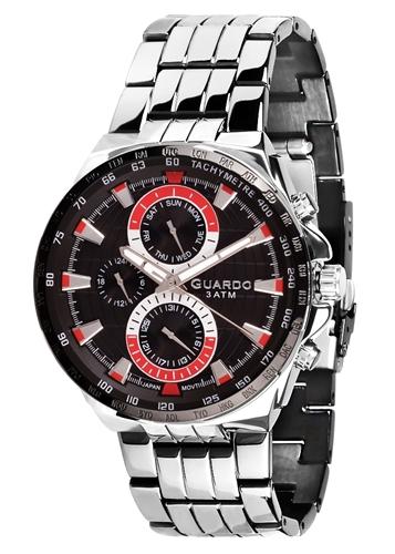 عکس نمای روبرو ساعت مچی برند گوآردو مدل 11951-1