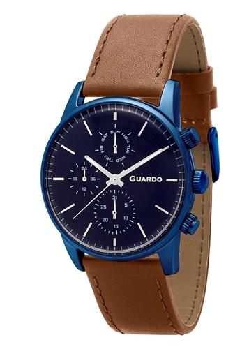 عکس نمای روبرو ساعت مچی برند گوآردو مدل 12009-5