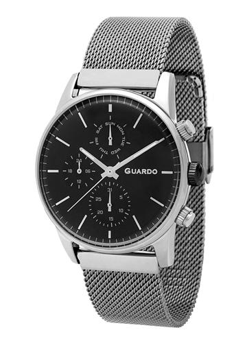 عکس نمای روبرو ساعت مچی برند گوآردو مدل 12009(1)-1